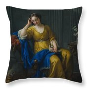 Sweet Melancholy Throw Pillow
