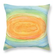 Sweet Melon Throw Pillow
