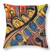 Sweet Music Throw Pillow