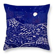 Sweet Night Throw Pillow