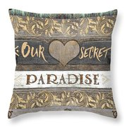 Sweet Paradise Series Throw Pillow