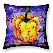 Sweet Pepper Throw Pillow