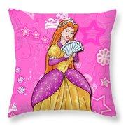 Sweet Princess Throw Pillow