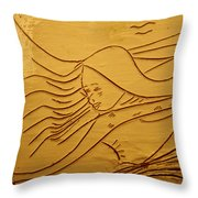 Sweet Sounds - Tile Throw Pillow