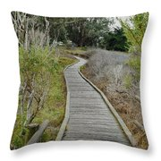Sweet Springs Nature Preserve Throw Pillow
