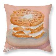 Sweet Sunday Throw Pillow