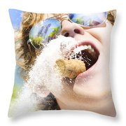 Sweet Taste Of Success Throw Pillow