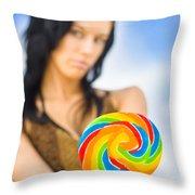 Sweet Thing Throw Pillow