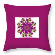 Sweet Violet Throw Pillow