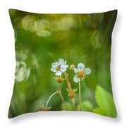 Sweet Watercolor Throw Pillow