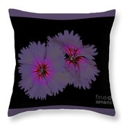 Sweet William On Fire Throw Pillow