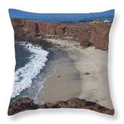 Sweetheart Beach Throw Pillow
