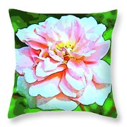 Sweetheart Rose On A Sunny Day Throw Pillow
