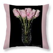 Sweetheart Roses Throw Pillow