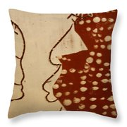 Sweethearts 10 - Tile Throw Pillow