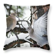 Sweetness In The Trees Throw Pillow