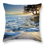 Swept Out To Sea Throw Pillow