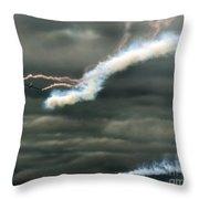 Swift Aerobatic Display Team Throw Pillow