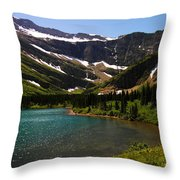Swift Current Lake Throw Pillow