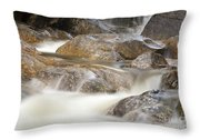 Swift River - White Mountains New Hampshire Usa Throw Pillow
