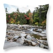 Swift River, New Hampshire Throw Pillow