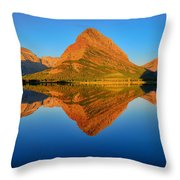 Swiftcurrent Morning Reflections Throw Pillow