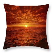 Swiftly Flow The Days Throw Pillow
