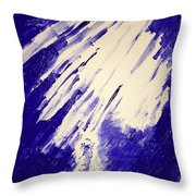 Swim To The Light Throw Pillow