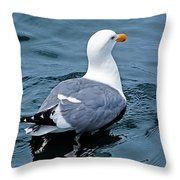Swimmin' Away Throw Pillow