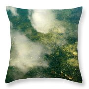 Swimming Clouds Throw Pillow