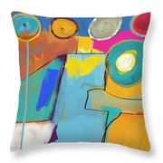 Swimming Pool Throw Pillow