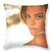Swimsuit '17 Throw Pillow