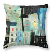 Swing Shift Throw Pillow