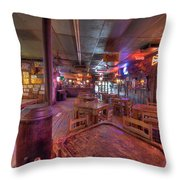 Swinging Doors At The Dixie Chicken Throw Pillow