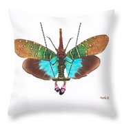 Swinging In My Party Dress Throw Pillow