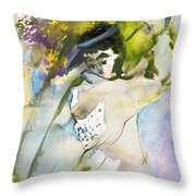 Swinging The Dreams Throw Pillow