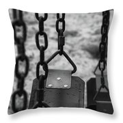 Swings Throw Pillow