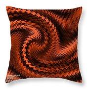 Swirl Creativiana Catus 1 No.2 H A Throw Pillow