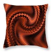 Swirl Creativiana Catus 1 No.2 V A Throw Pillow