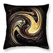 Swirl Design 2 Throw Pillow