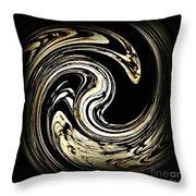 Swirl Design 3 Throw Pillow