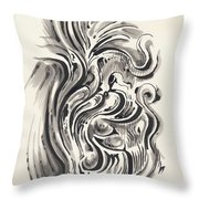 Swirl Throw Pillow