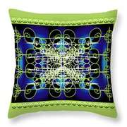 Swirling 1 Throw Pillow