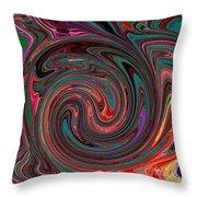 Swirlpool Throw Pillow