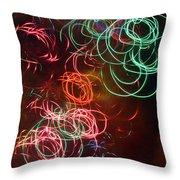 Swirls 2 Throw Pillow