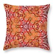 Swirls Abstract Throw Pillow