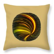 Swirls And Curls Throw Pillow