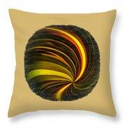 Swirls And Curls Throw Pillow