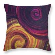 Swirls Of Wonder Throw Pillow