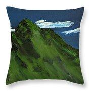 Swiss Alp Throw Pillow